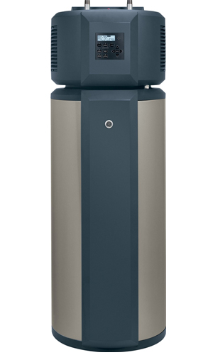 hybrid water heaters are the most efficient electric water heater available the hybrid water heaters use a small heat pump to pull water through the unit